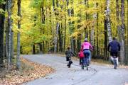Family Biking In Door County