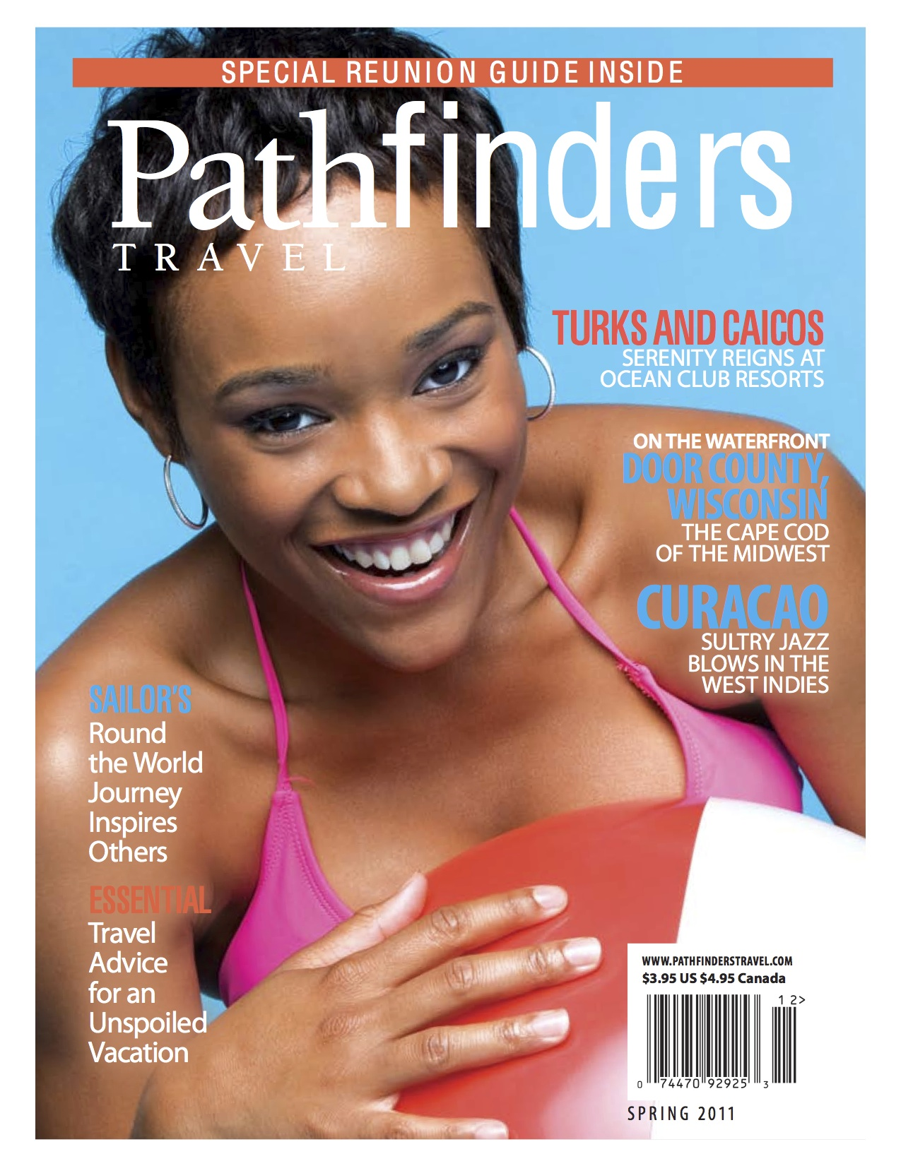 Pathfinders Travel, Spring 2011