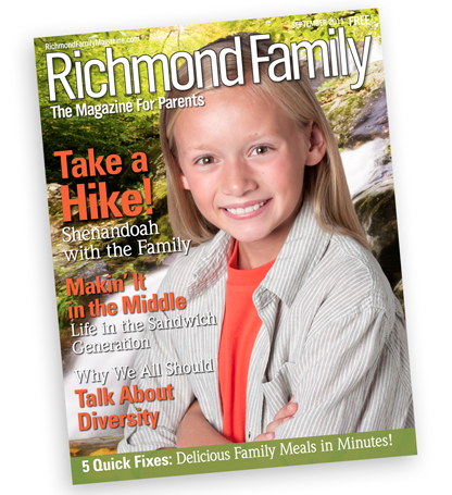 Richmond Family magazine Sept 2011