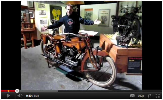 Mysterious Traub Motorcycle YouTube video