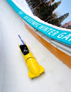 Utah Olympic Park Bobsled